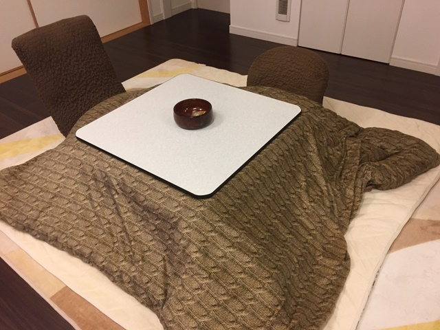 Kotatsu is comfortable and its charm is addictive! Winter's ultimate healing item?
