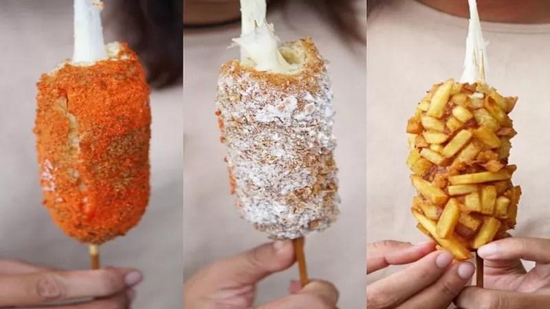 Mencicip Corndog, Kreasi Street Food Khas Korea!