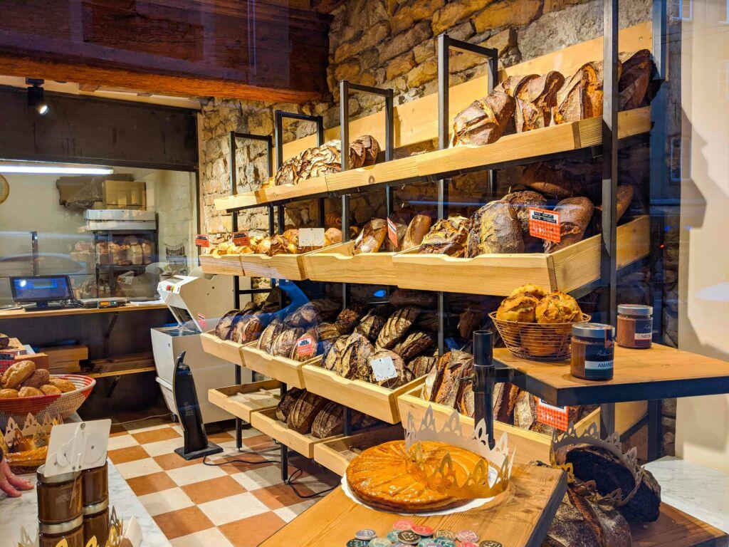 Vitrine boulangerie Antoinette Lyon 2e