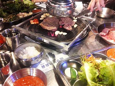 restaurant barbecue coréen