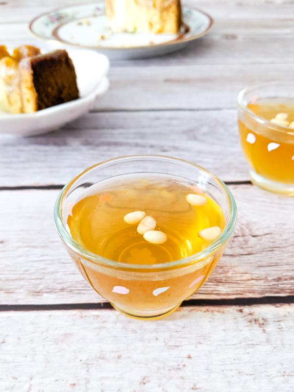 sujeonggwa boisson digestion a la canelle et au gingembre