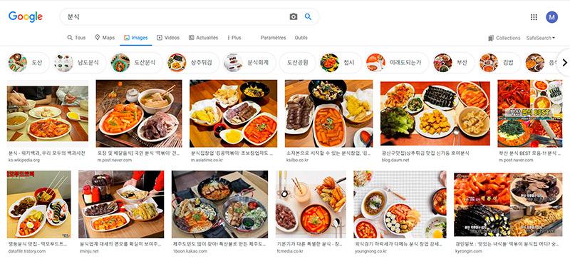 resultat google image