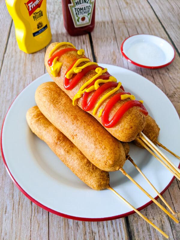 pile de hot dog coréen