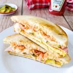 isaac toast, sandwich de street food coreen