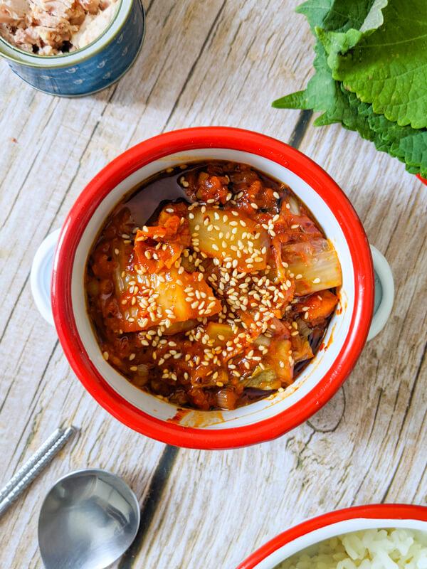 Bokkeum Kimchi