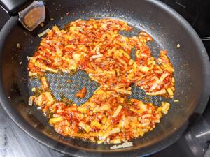 kimchi bokkeum etape 6