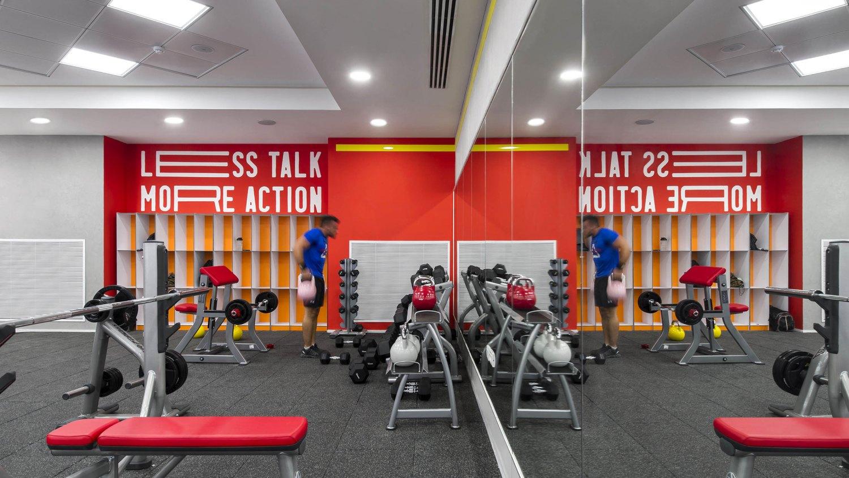 Interior Design in Jerusalem Gym