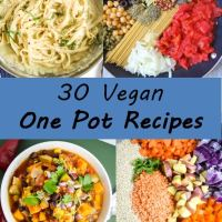 30 Vegan One Pot Recipes