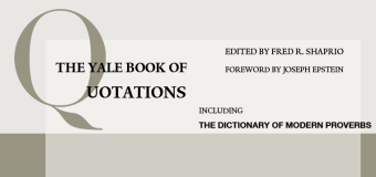 Yale Book of Quotations