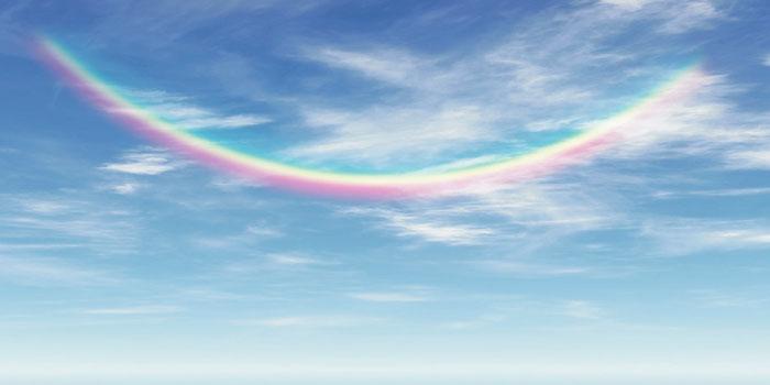 逆さ虹と水平虹の意味・現象は?2つの違いを見分ける方法と縁起は?