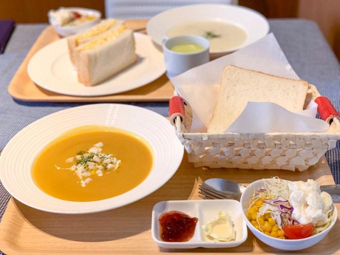 食パン道 とうもろこしのスープ