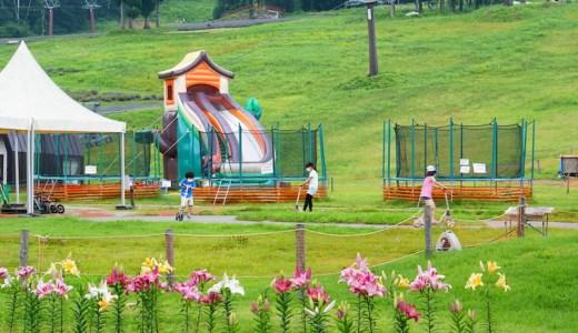 「タングラム斑尾」のキッズパークで夏休みを楽しむ!子ども向けアクティビティ体験レポ