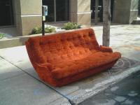 The Couch in the Street as a literall example as the city as a living room