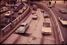 Manhattan Side of the Brooklyn-Battery Tunnel in May 1973