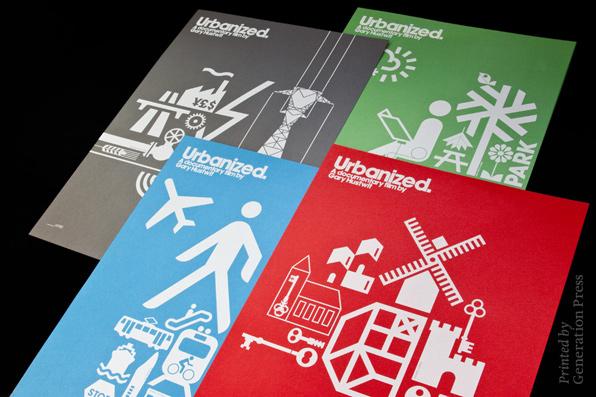 Urbanized Film posters