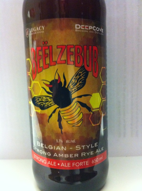 Beëlzebub is a Belgian-style Strong Amber Rye Ale