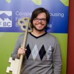 Yuri Artibise holds the key in support of co-operative housing