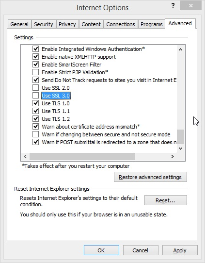 Securing your browsers: Internet Explorer (1/5)