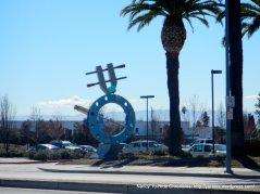 huge industrial sculpture