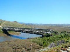 bridge over Pescadero Marsh