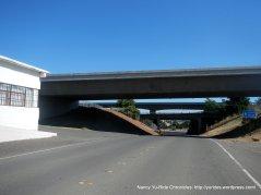 to bridge crossing