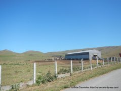 feed lot-cattle ranch