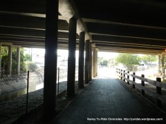 under I-680 Canal Trail