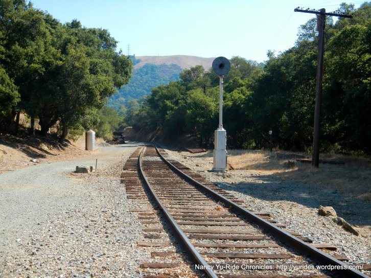 Niles Canyon RR tracks