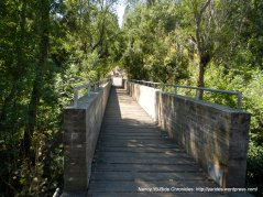 Cull Canyon footbridge