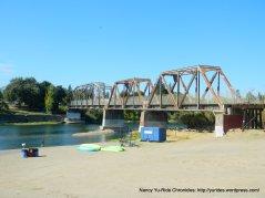 Russian River train trestle