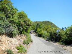 Old Railroad Grade Trail to summit