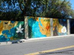 Franklin Canyon Rd murals