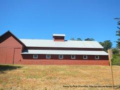 Bear Valley Visitor Center red barn