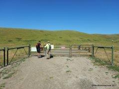 west side loop trail gate