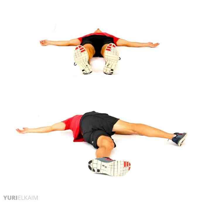 Dynamic Warm-up Exercises - Leg Crossovers