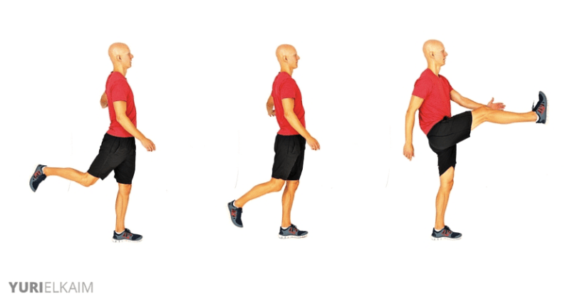 Dynamic Warm-up Exercises - Leg Swings