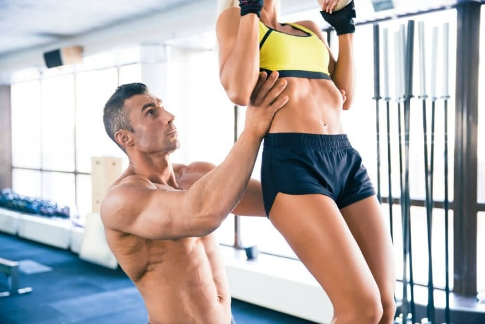 Assisted Pull-ups with a Partner