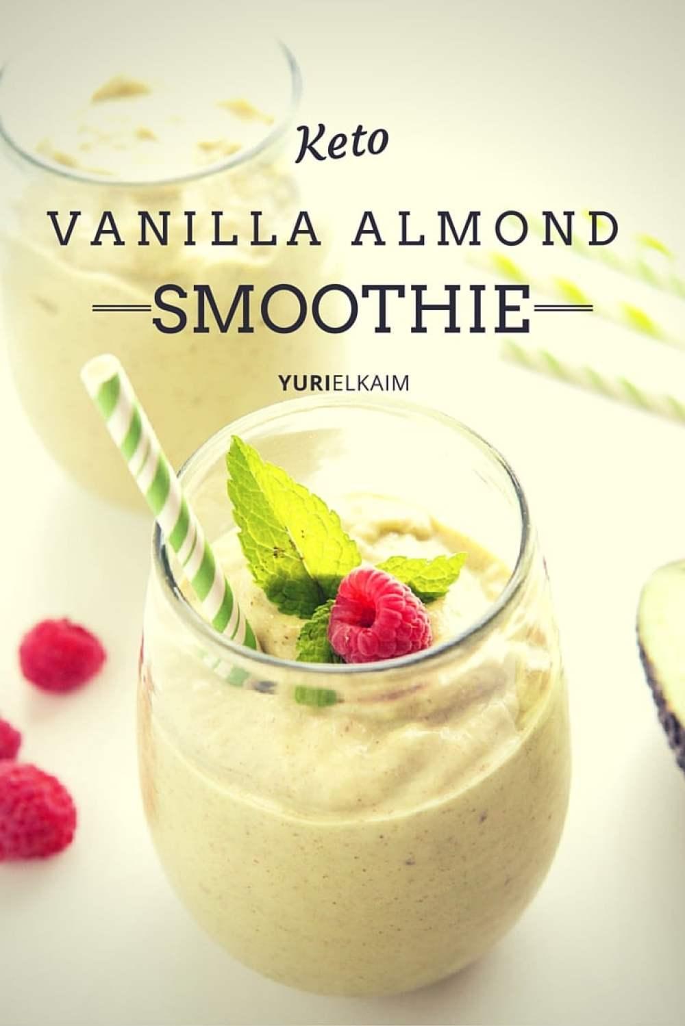 Vanilla Almond Keto Protein Shake | Yuri Elkaim