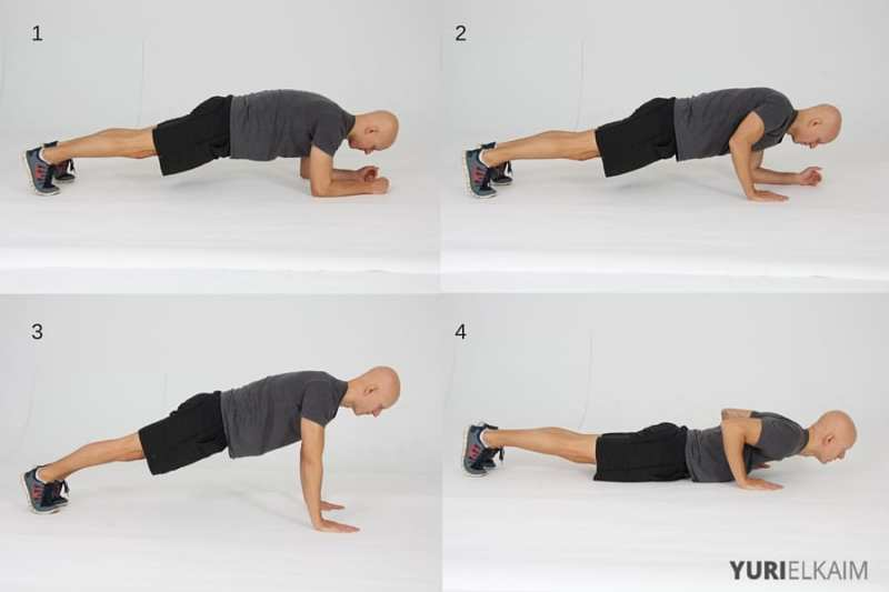 15 Best Bodyweight Exercises - Plank to Straight Arm Push-Ups
