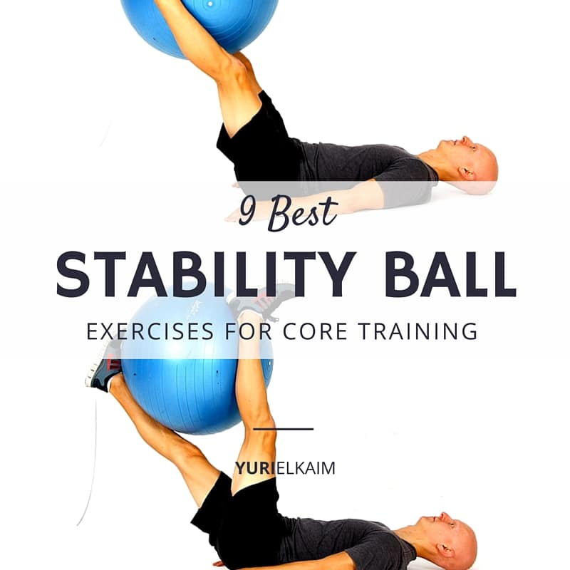 The 9 Best Stability Ball Exercises For Core Training