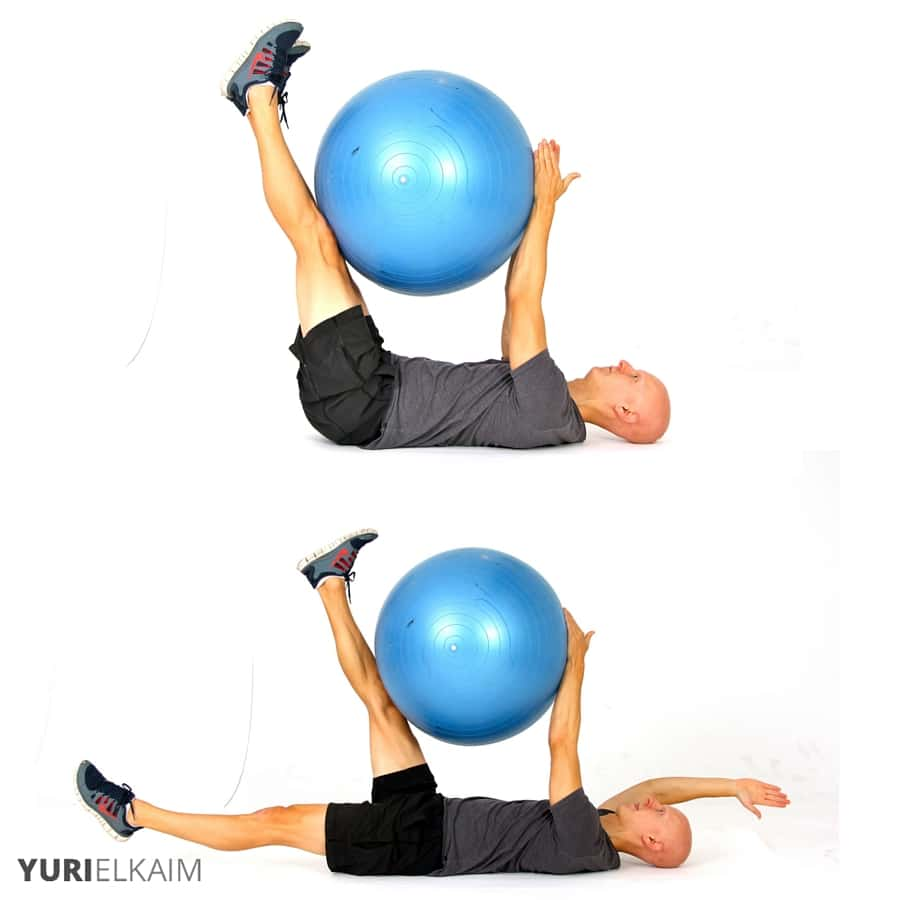 Balance Ball Legs: The 9 Best Stability Ball Exercises For Core Training