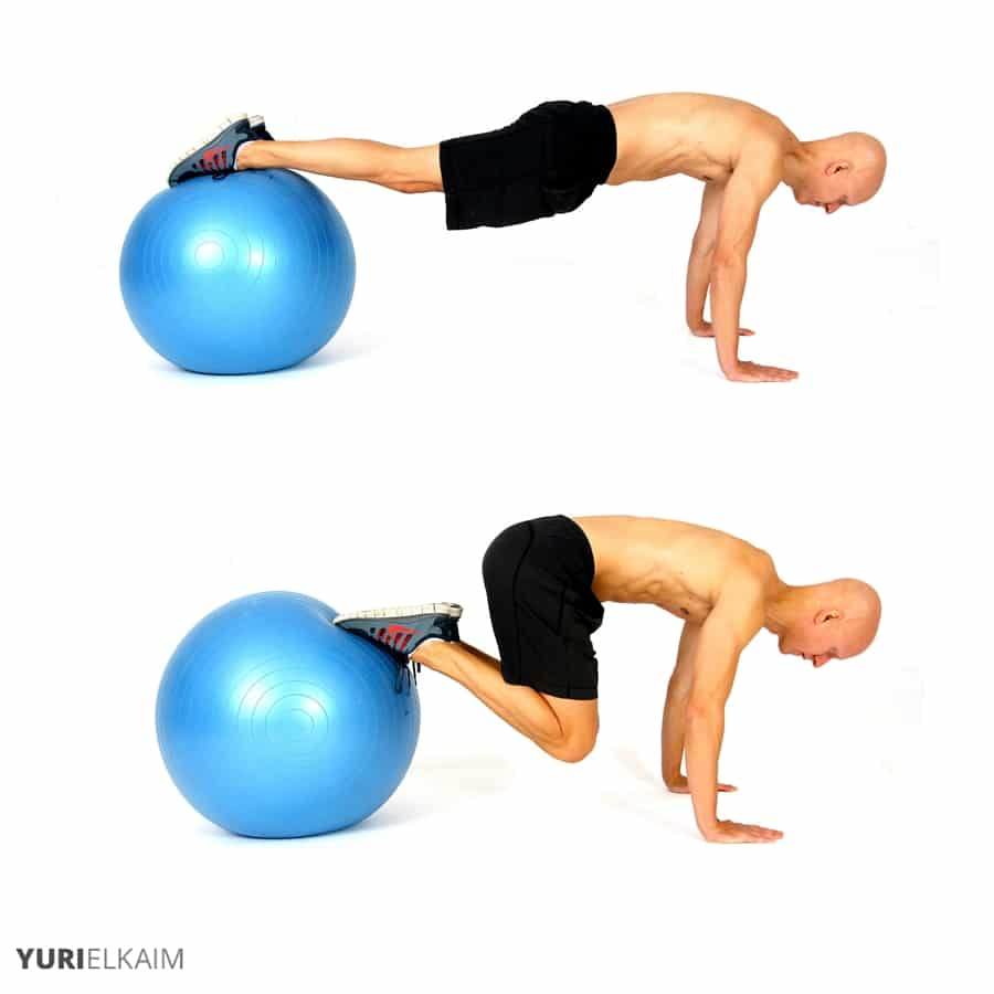 Stability Ball Knee Crunches: The 14 Best Ab Exercises For A Rock Solid Core