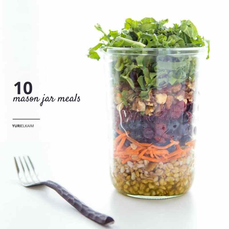 10 Mason Jar Meals to Make Healthy Eating Easy