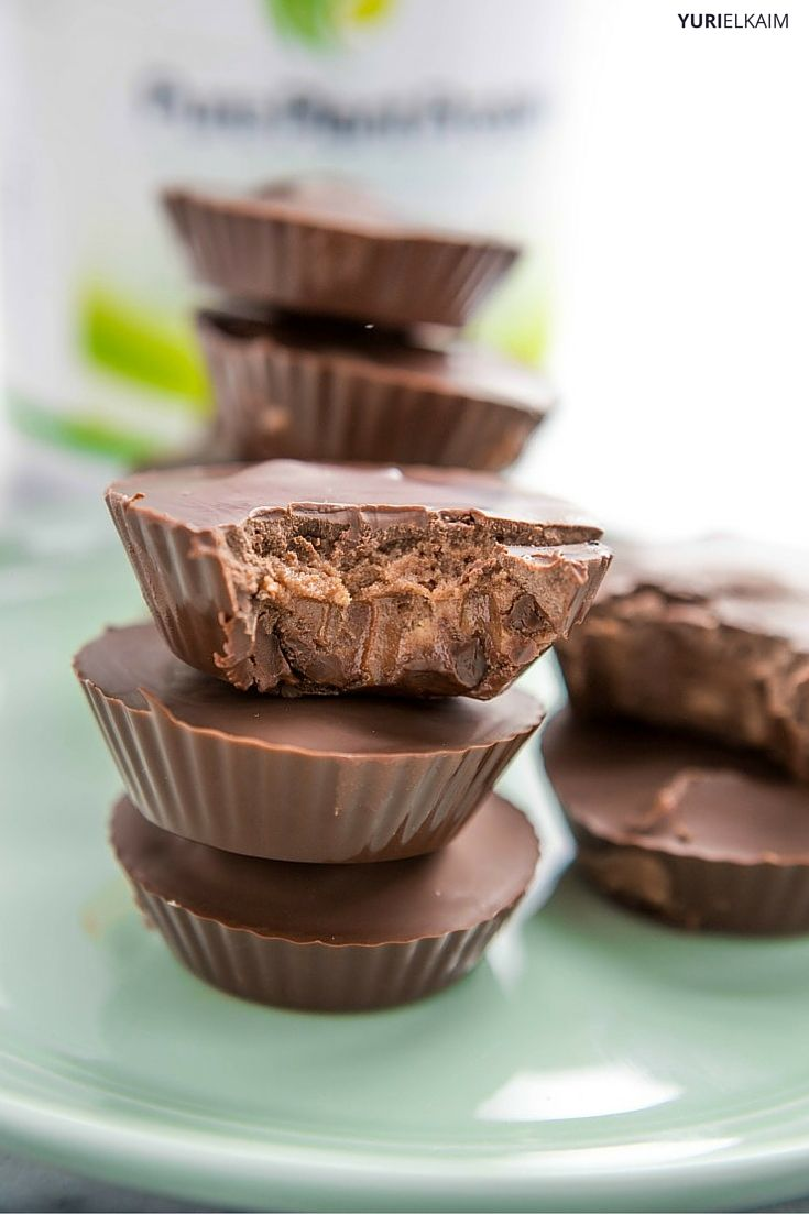 Homemade Protein Peanut Butter Cups