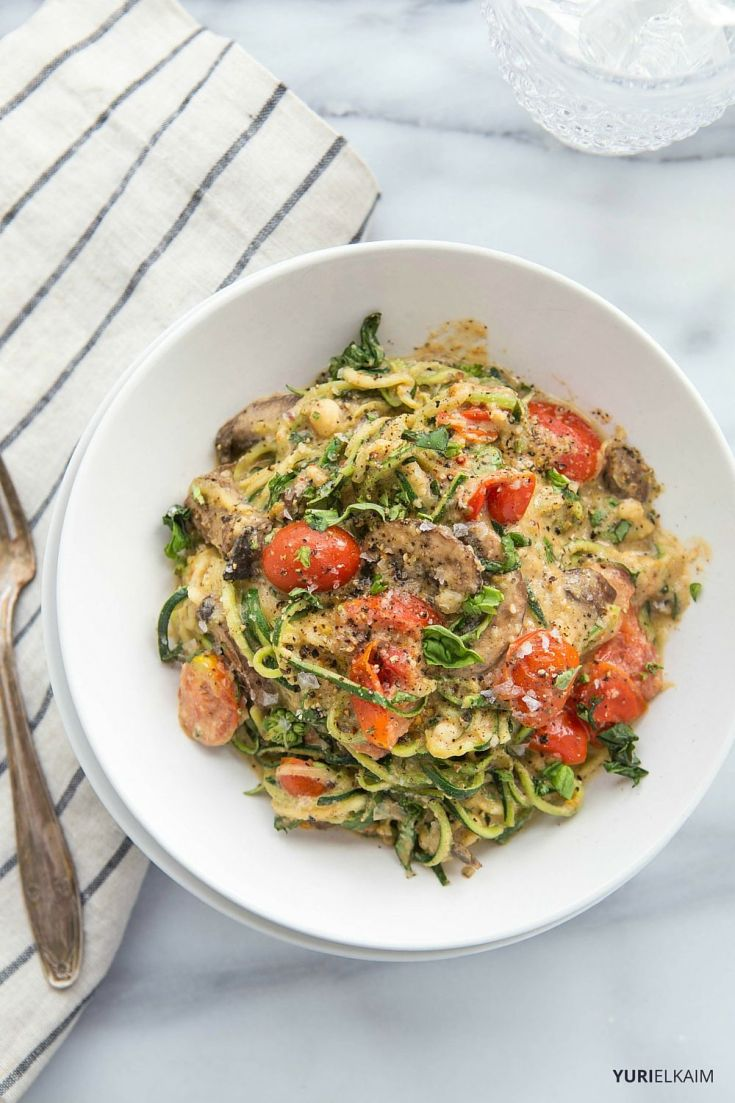 One Pot Pasta Recipe with Brazil Nuts