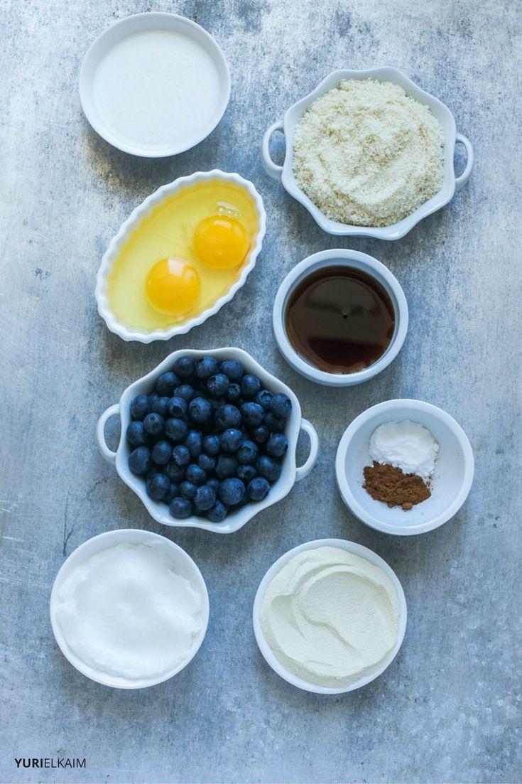 Paleo Blueberry Muffins Ingredients