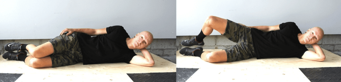 Exercises to Strengthen Knees - Clams