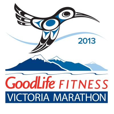 2013 GoodLife Fitness Victoria Marathon art