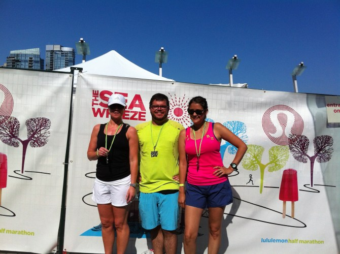 SeaWheeze 2012 Finish
