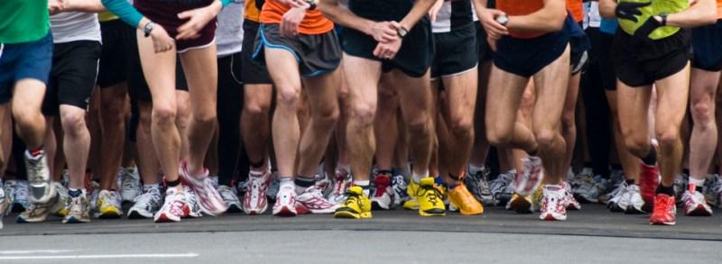 marathon start line running